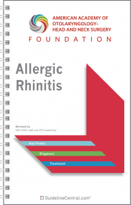 Allergic Rhinitis GUIDELINES Pocket Guide