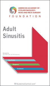 Adult Sinusitis GUIDELINES Pocket Guide