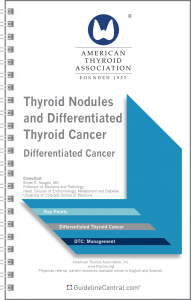 Differentiated Thyroid Cancer GUIDELINES Pocket Card