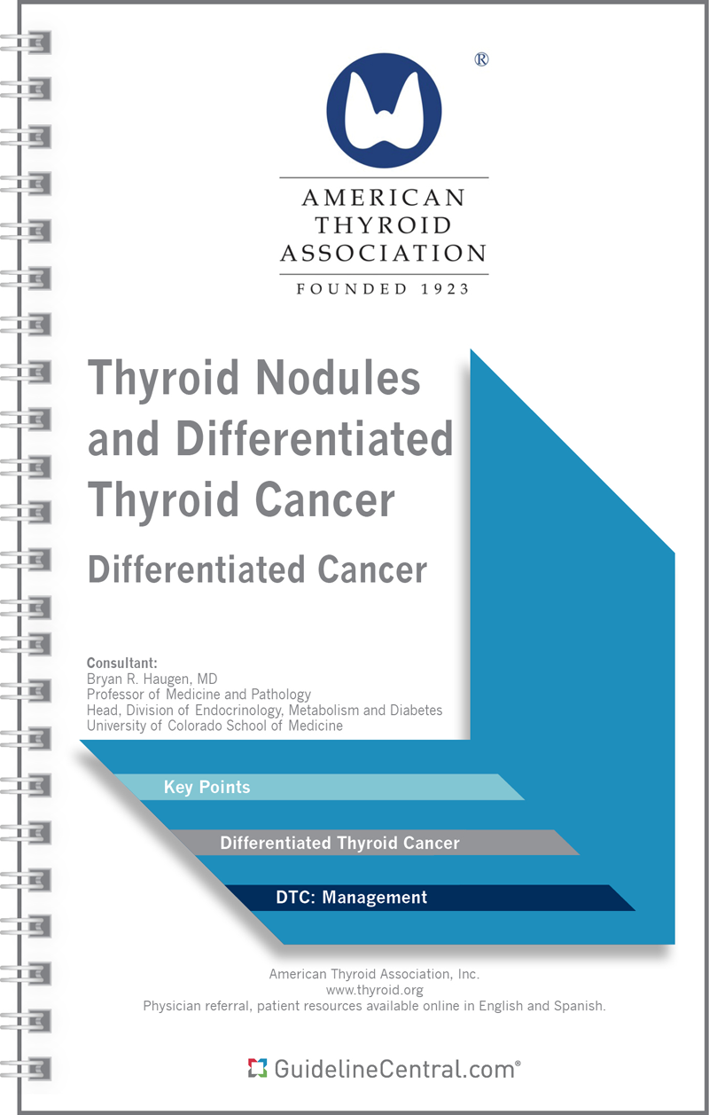 SPECIAL ARTICLES Management Guidelines for Children with Thyroid Nodules and Differentiated Thyroid Cancer The American Thyroid Association Guidelines Task Force
