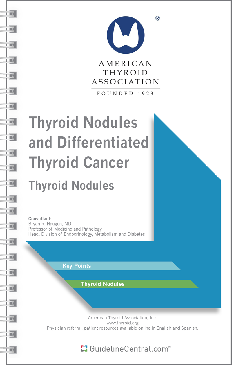 Ata Dtc Thyroid Nodules Guidelines Pocket Guide App
