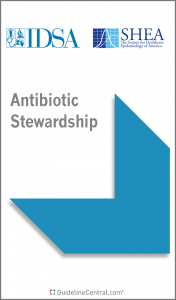 Antibiotic Stewardship GUIDELINES Pocket Card