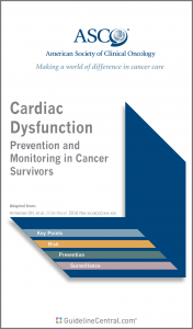 Cardiac Dysfunction in Cancer Survivors GUIDELINES Pocket Card