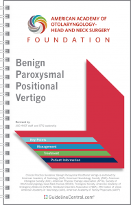Benign Paroxysmal Positional Vertigo GUIDELINES Pocket Guide