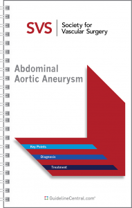Abdominal Aortic Aneurysm GUIDELINES Pocket Guide