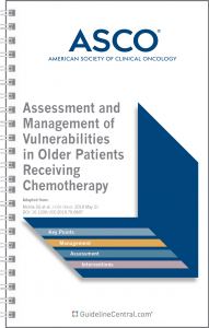 Geriatric Chemotherapy Guidelines from ASCO
