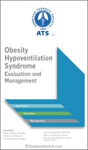Obesity Hypoventilation Syndrome GUIDELINES Pocket Guide