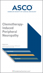 ASCO Chemotherapy-Induced Peripheral Neuropathy Guidelines Pocket Guide Cover