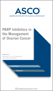 PARP Inhibitors in the Management of Ovarian Cancer GUIDELINES Pocket Guide