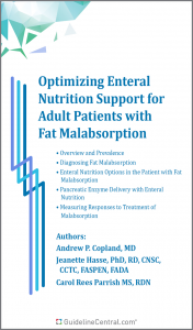 Optimizing Enteral Nutrition Support for Adult Patients with Fat Malabsorption Pocket Guide