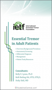 Essential Tremor in Adult Patients Pocket Guide